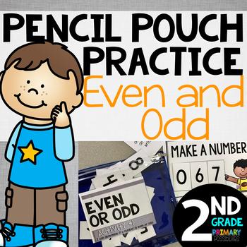 Pencil Pouch Practice {Even & Odd}