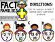 Pencil Pouch Practice {Fact Families}