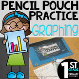 Pencil Pouch Practice { Graphing }
