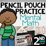 Pencil Pouch Practice {Mental Math}