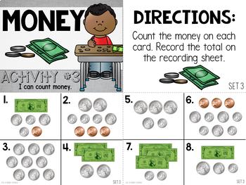 Pencil Pouch Practice {Money}