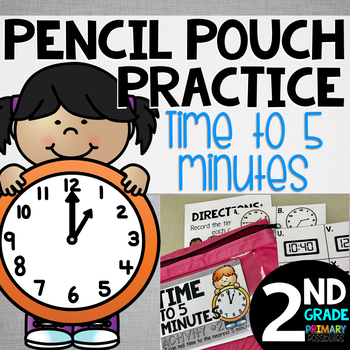 Pencil Pouch Practice {Time to 5 minutes}