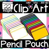 Pencil Pouches Clip Art