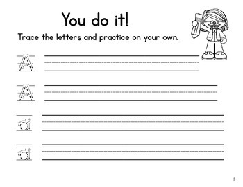 Handwriting Practice Book for First Grade