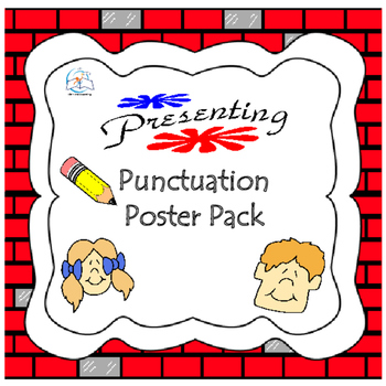 Pencil Punctuation Poster Pack