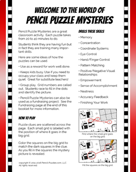 Pencil Puzzle Mysteries - Monsters Puzzle Pack