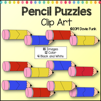 Pencil Puzzles Clip Art