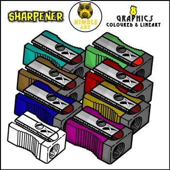 Sharpener Clipart (Stationeries)