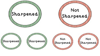 Pencil Sharpener Signs