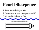 Pencil Sharpening Procedure