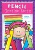 Pencil Sorting Mat - Classroom Organization