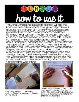 Problem Solving Pencil