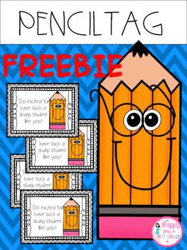 Pencil Tag FREEBIE