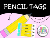 Pencil Tags