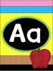 Pencil Themed Decor Alphabet Posters