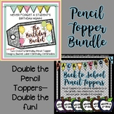Pencil Topper Bundle (The Birthday Bucket Pencil Toppers +