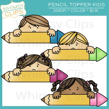 Pencil Topper Kids Freebie