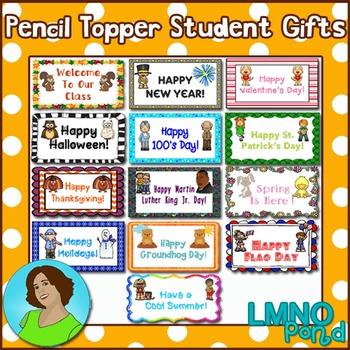 Pencil Topper Student Gifts