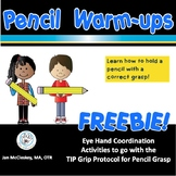 FREE How to Hold a Pencil Activities