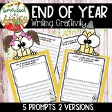 Pencil Writing Craftivity - End of Year Activity (K-3 Writing)