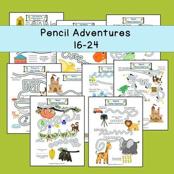 Pencil adventures 16-24