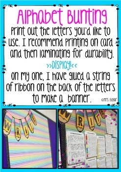 Bunting: Pencils