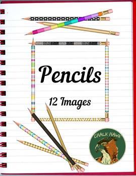Pencils Clip Art