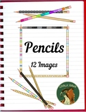Pencils Clip Art