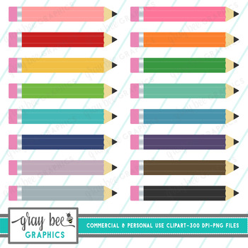 Pencils Clipart Pack
