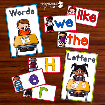 Back to School Kindergarten Centers (Literacy & Math Activities)