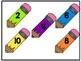 Pencils Number Match 11-20 File Folder