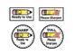 Pencils Sharpened / Needs Sharpened Labels