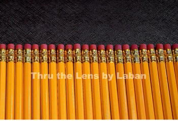 Pencils and Border Stock Photo # 199