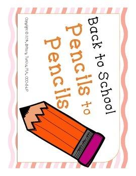Pencils to Pencils
