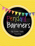Pendant Banners-Colorful patterns