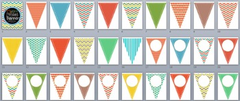 Pendant Banners-Mustard Colors