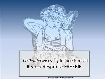 Penderwick Reader Response FREEBIE