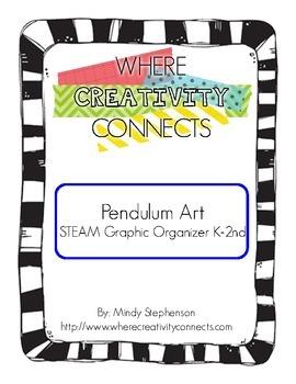 Pendulum Art STEAM Graphic Organizer K-2nd