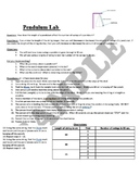 Pendulum Lab (Variables/Scientific Method)