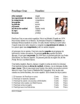 Penélope Cruz Biografía - Spanish Biography