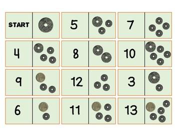 Pengeoppgaver for 1. og 2. trinn