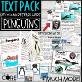 Penguin Text Pack: Differentiated printable texts for clas