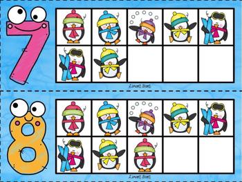 Penguin 10 Frames