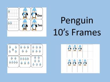 Penguin: 10's Frame