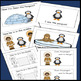 Penguins, Emergent Reader, Cut and Paste Positional Words,
