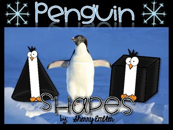 3D Shapes - Penguin 3D Shapes