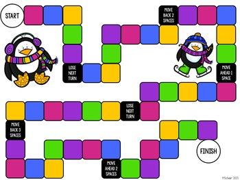 Penguin 5th Grade Math Review Game