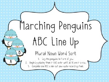 Penguin ABC Order Center