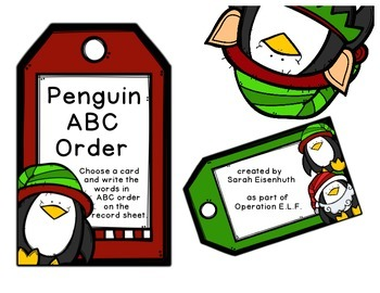 Penguin ABC Order - Operation E.L.F.