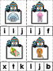 Penguin ABC's & 123's Clip Cards {NO DITTOS}